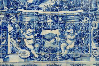 Azulejo a São Bento vasútállomáson
