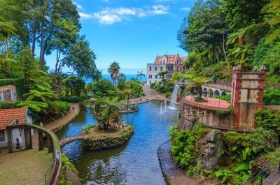 Madeira - Monte Palace Botanikus kert
