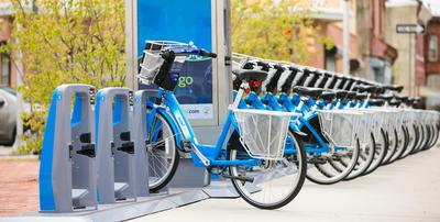 Indego Kerékpár megosztás