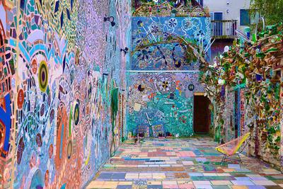 Philly falfestményei és a Mágikus kert