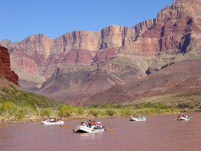 Rafting a Colorado folyón