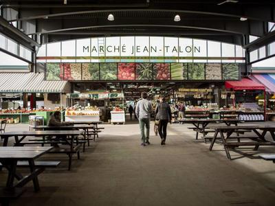 Atwater és Jean Talon piacok - Montreal