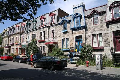 Saint-Louis tér és Rue Denis - Montreal